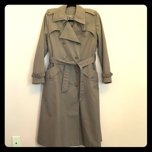 Vintage military style Trench Coat